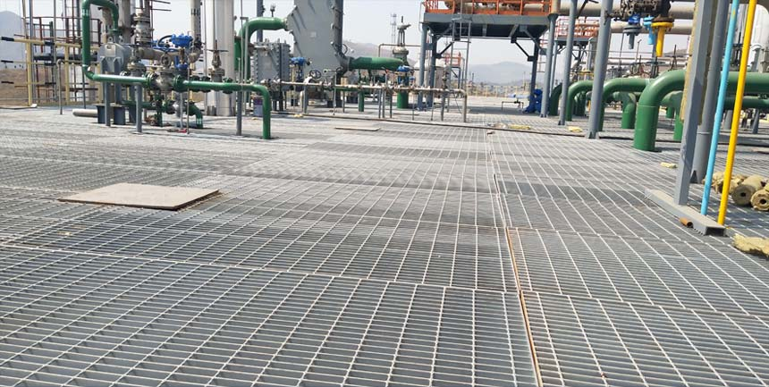 The Introduction of Steel Grating