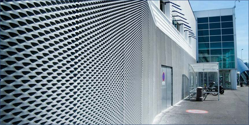 Decorative Expanded Metal Panel