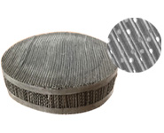 Stainless Steel Wire Mesh Corrugated Gauze Packing