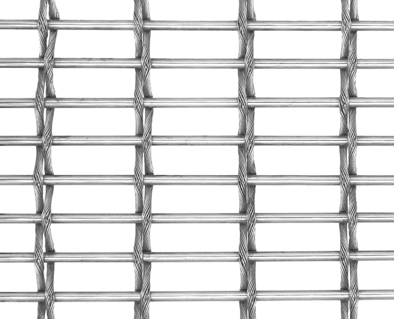 Cable-Rod Woven Mesh BZ-240