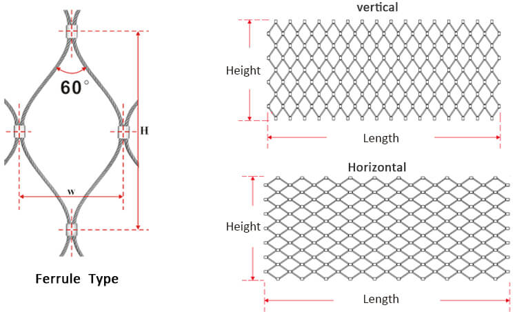 stainless steel ferrule mesh