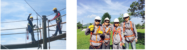 Construction team of BZWIREMESH