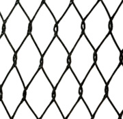 Stainless steel cable black oxided mesh